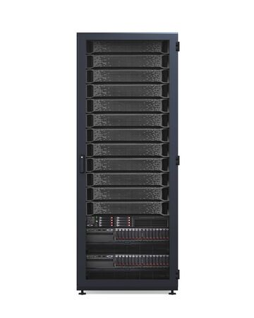network server: Computer Network Server Isolated