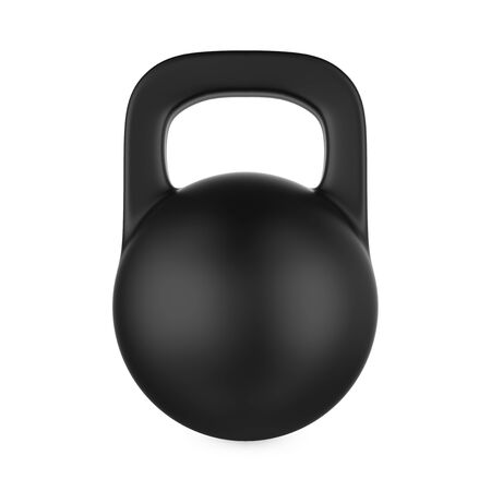 cast iron: Iron Kettlebell Isolated