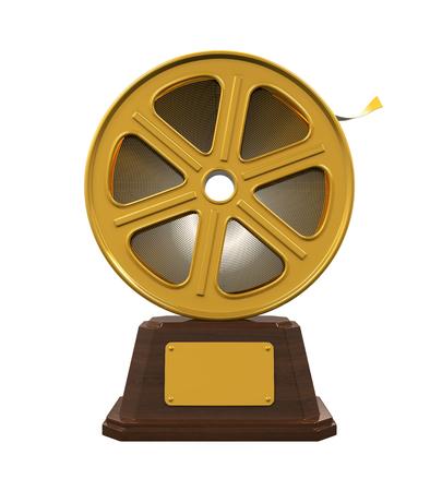 Movie Award Isolated Stock Photo
