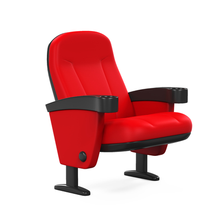 Red Theater Seat