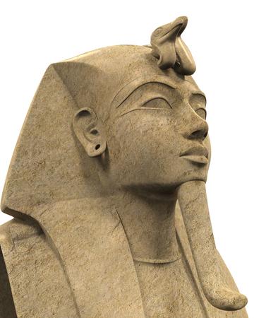 Stone Pharaoh Tutankhamen
