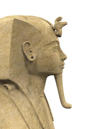 antiquities: Stone Pharaoh Tutankhamen
