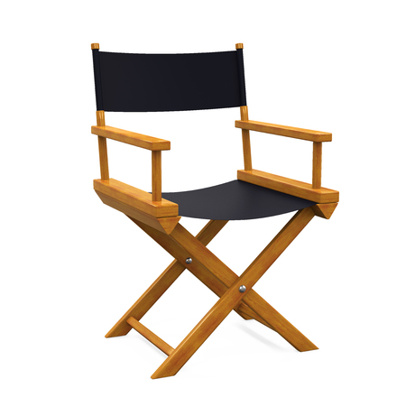Director Chair Isolated