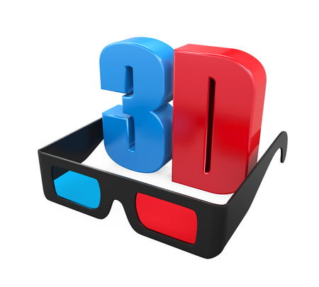3D Text and Glasses