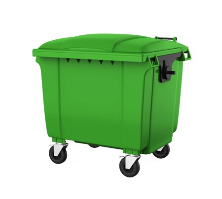 Outdoor Trash Can Bin
