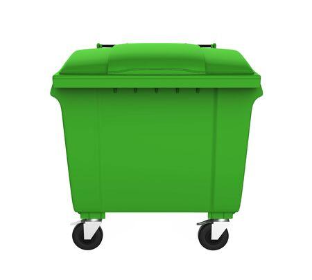 Outdoor Trash Can Bin