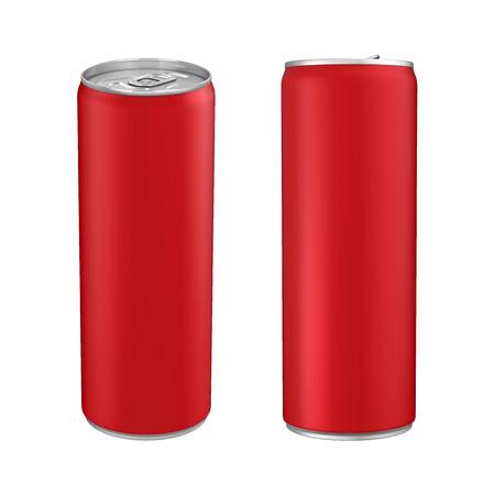 aluminum: Aluminium Soda Can Isolated