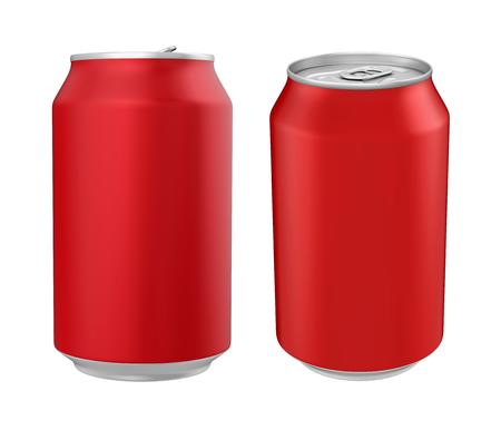 aluminium: Aluminium Soda Can Isolated