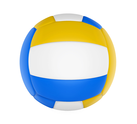 Volley Ball Isolated