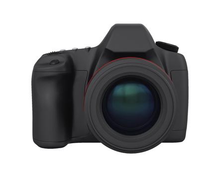 Digital SLR Camera Isolated Imagens