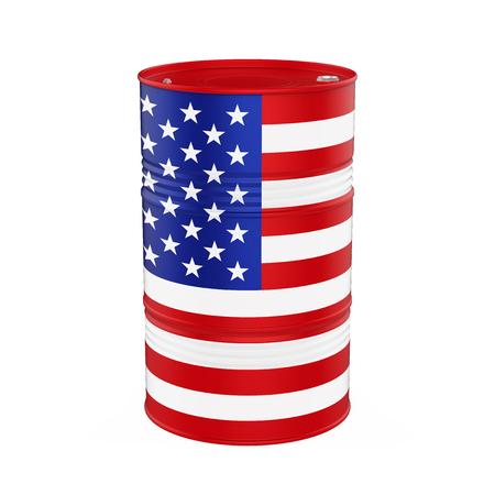EE.UU. Bandera del barril de petróleo