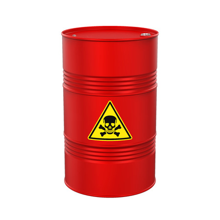 Poisonous Barrel Isolated