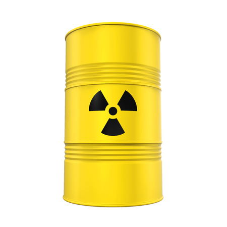 Radioactive Barrel Isolated
