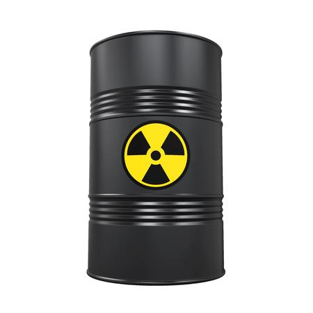 Radioactive Barrel Isolated