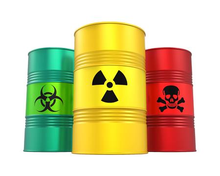 Biohazard, Radioactieve en Giftige Vaten Geïsoleerd