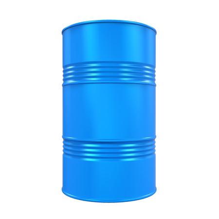 Blauwe Olie Drum Geïsoleerd Stockfoto - 80347298