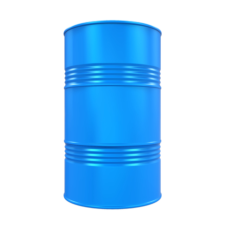 Blue Oil Drum Isolated Stock fotó - 80347298