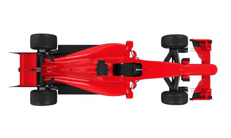 formula one: Formula One Race Car Isolated Stock Photo