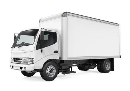 Cargo Delivery Truck Isolato