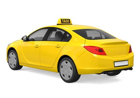 노란색 택시 절연을