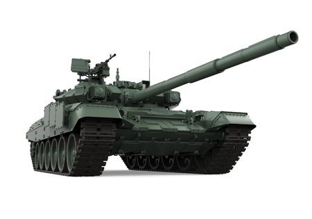 分離された軍事タンク