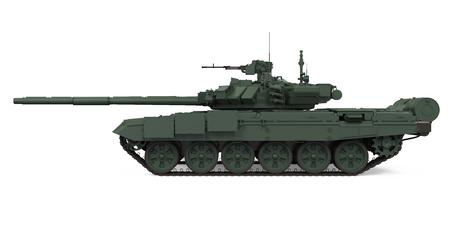 batallón: Tanque militar aislado
