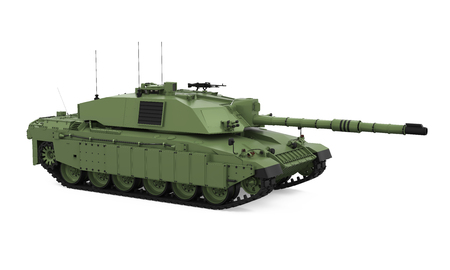 Military Tank Isolated