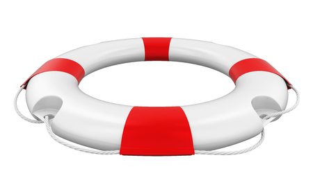 Rettungsring isoliert Standard-Bild - 83352413