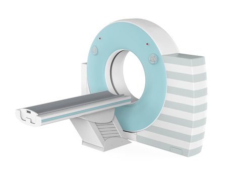 CT Scanner Tomography Isolated