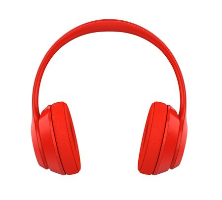 Headphones Isolated Banque d'images