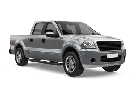 Pickup Truck Isolated