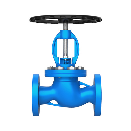 Industrial Valve Isolated