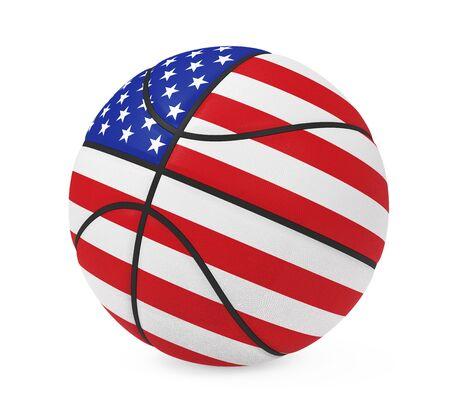 American Basketball Isolated