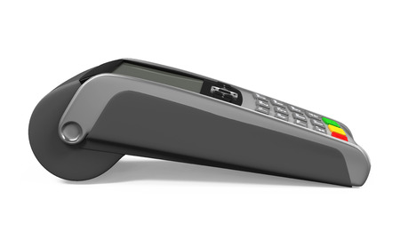 device: Credit Card Machine Isolated