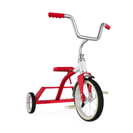 Kids Tricycle Isolated