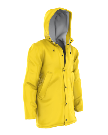 Rain Coat Isolated