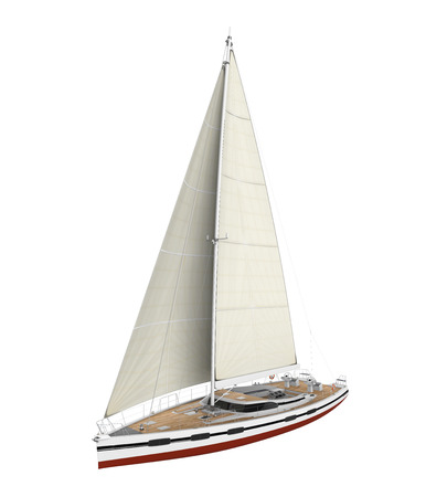 retailer: Sail Boat Isolated