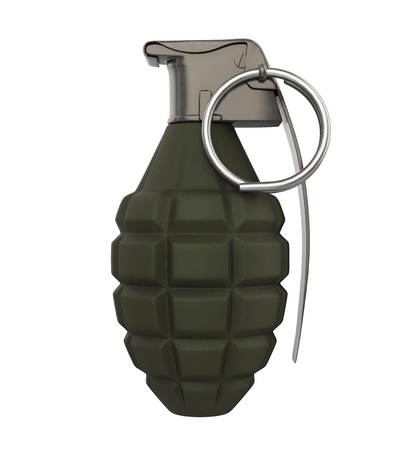 Grenade Bomb Isolated