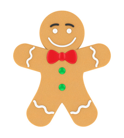 Gingerbread Man Isolated