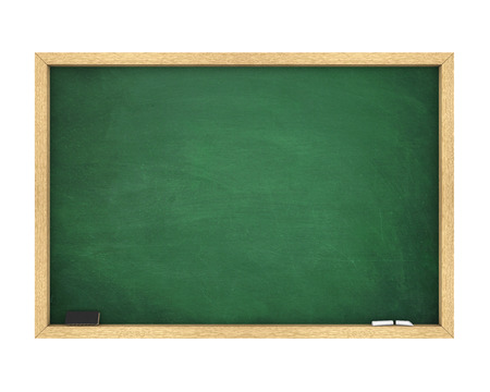Blank Chalkboard Isolated