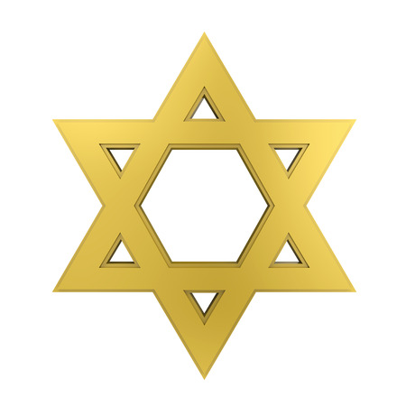 Star of David Isolated