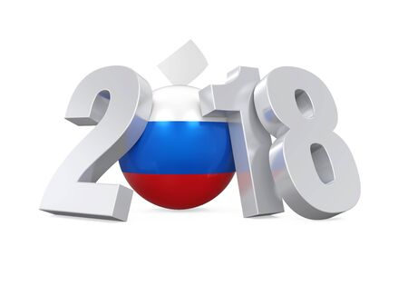 2018 Russian Election Concept