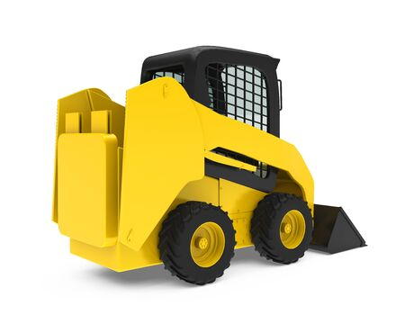 Skid-steer Loader Isolated Stock Photo