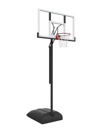Basketball Hoop Isolated