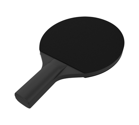 Table Tennis Racket Isolated