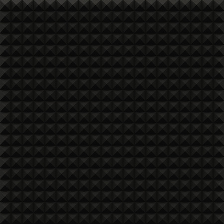 Acoustic Soundproof Panel Stock Photo