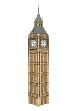 Big Ben Isolated 免版税图像 - 94545370