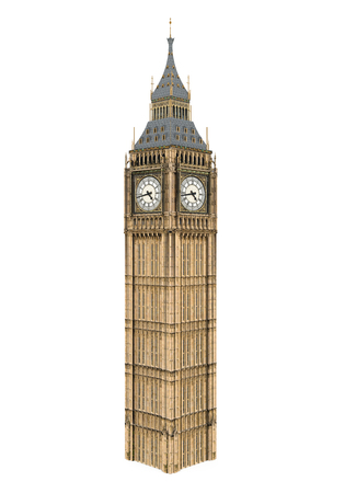 Big Ben Isolated