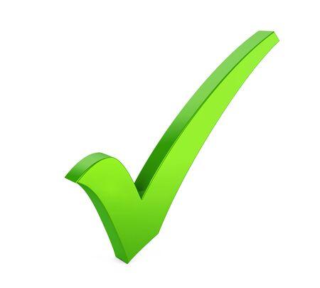 Checklist Isolated Stock Photo