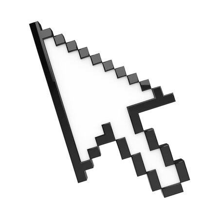 Freccia del cursore del mouse isolata Archivio Fotografico - 94648425